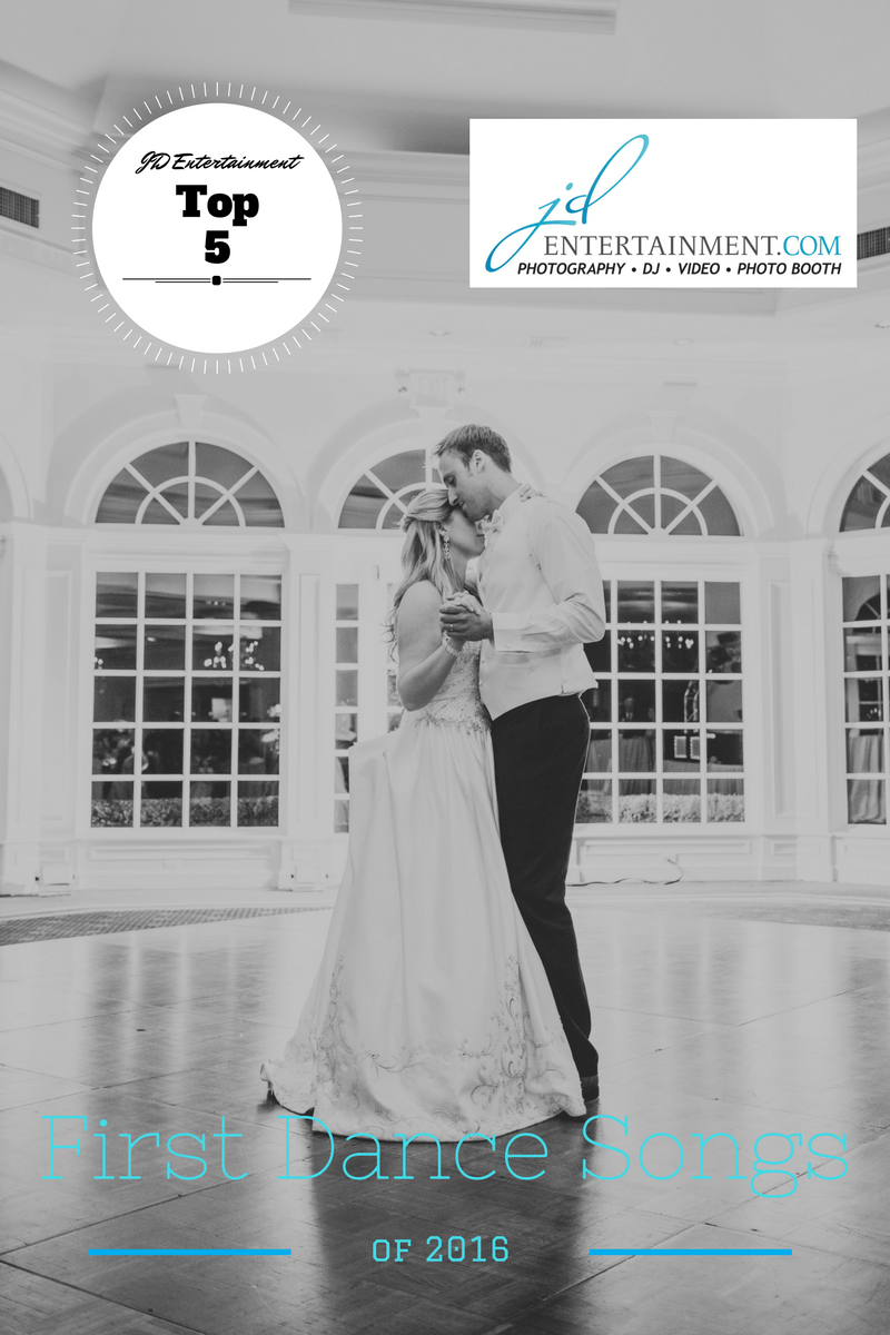 As We Are Heading Into Our Busy 2017 Wedding Season Took A Look Back At Top 5 Most Requested First Dance Songs Of 2016We Cant Wait To See What