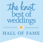 the knot: Best of Weddings - Hall of Fame